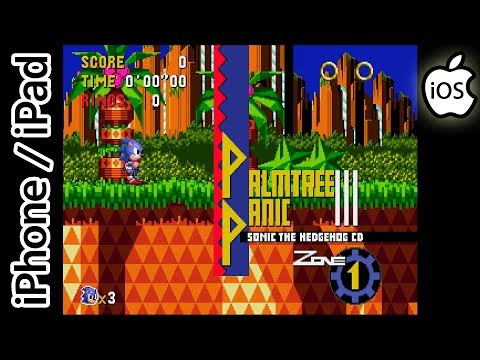 Sonic CD | Provenance Emulator | iPhone / iPad / iOS [1080p]