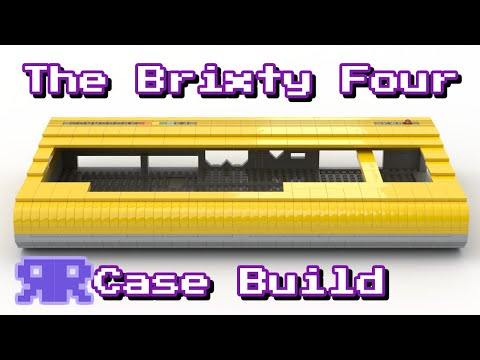 2/3: #LEGO C64 Real Case Build #TheBrixtyFour - Own It, Win It!