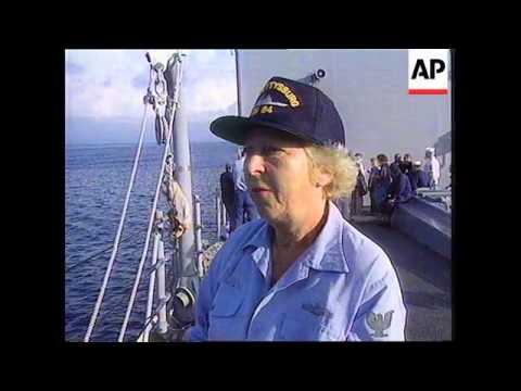 Djibouti - Survivors From Achille Lauro Arrive