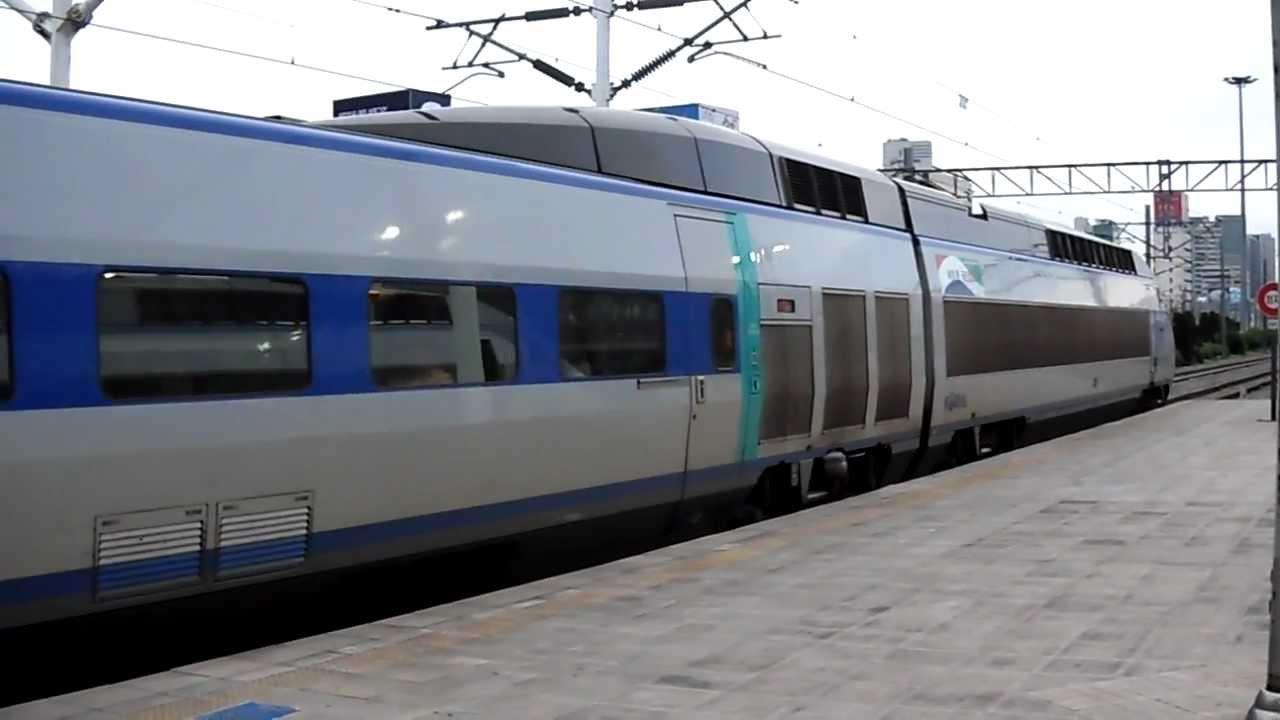 韓國高鐵KORAIL KTX 33 Departure@Seoul to Busan - YouTube
