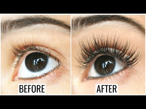 How to grow lashes naturally at home