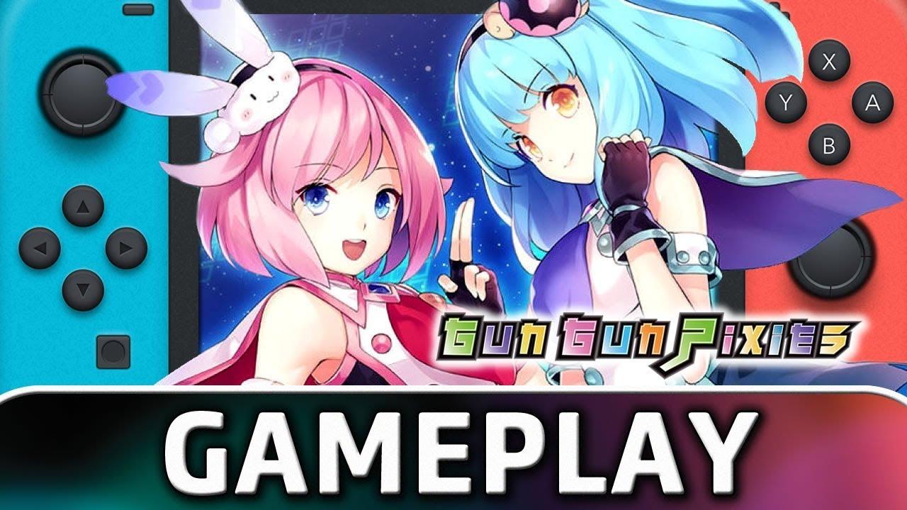 Gun Gun Pixies | First 30 Minutes on Nintendo Switch
