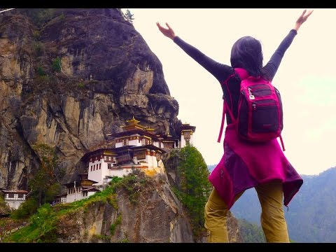 Bhutan Travel Part 15 - Hiking up to Tiger's Nest