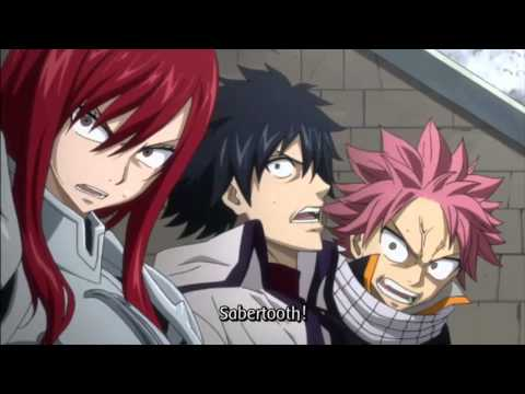 FAIRY TAIL AMV - Sick Puppies - Going Down
