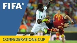 Nigeria 0:3 Spain, FIFA Confederations Cup 2013