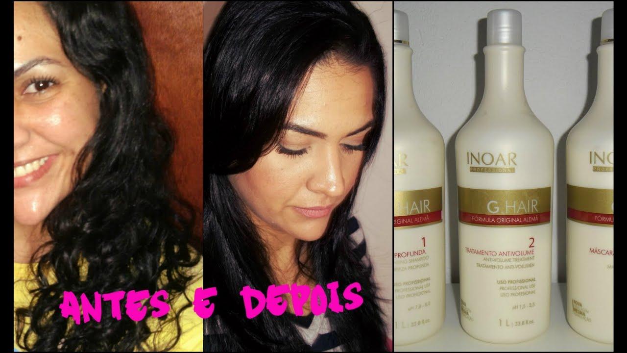 6e129cbe7 Como fazer escova progressiva em casa - Escova Progressiva G Hair INOAR