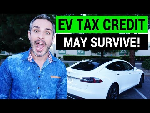 $7,500 Electric Car Tax Credit May Survive!