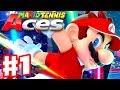 mario tennis aces gameplay walkthrough part 1 bask ruins piranha plant forest nintendo switch