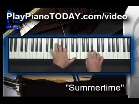 Jazz Piano - Summertime