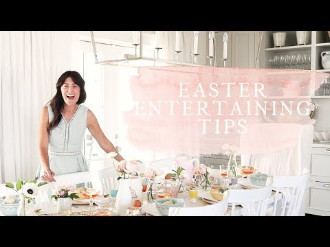 Jillian Harris  5 of My Favourite and Easy! Easter Entertaining Tips