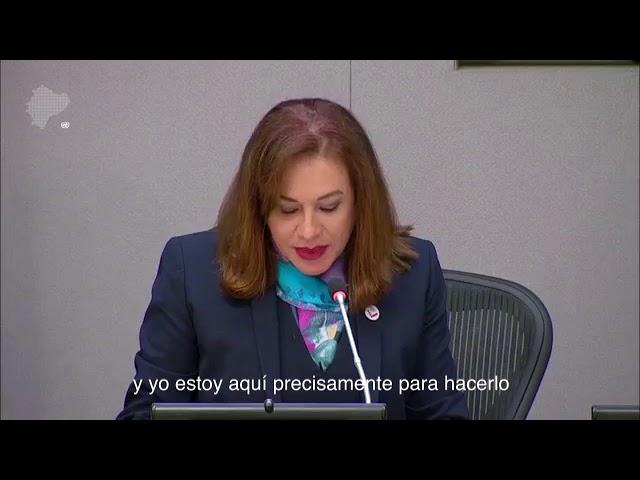 PRIMERA SEMANA GESTIÓN MARÍA FERNANDA ESPINOSA