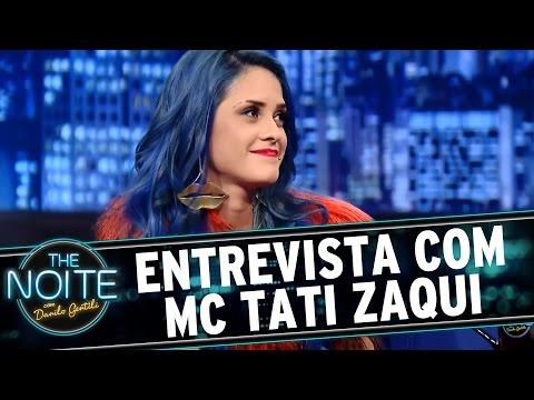 The Noite (29/07/15) - Entrevista com MC Tati Zaqui