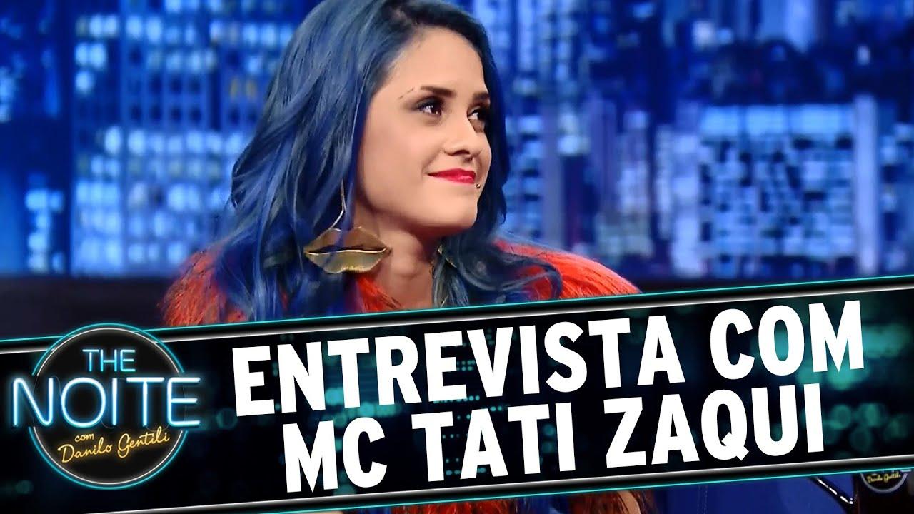 The Noite (29/07/15) - Entrevista com MC Tati Zaqui - YouTube