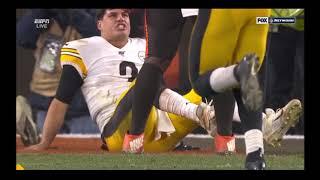 Browns vs Steelers FULL fight - Myles Garrett, Mason Rudolph - Thursday Night Football!