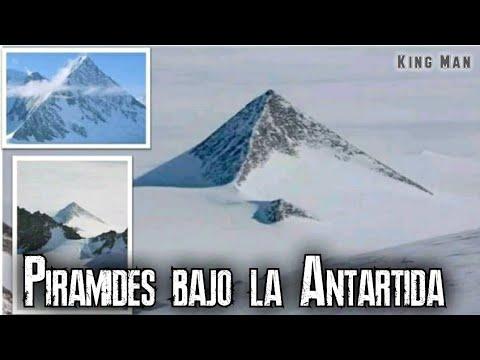 Video viral de las Pirámides de la Antartida , ellas existen están ahí