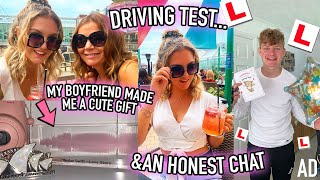 MY BROTHER (finally) TOOK HIS DRIVING TEST & A VERY HONEST CHAT...   Ad