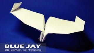 BEST PAPER PLANES - Let's Make A Paper Plane For Windy Condition | Blue Jay