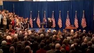 Sheryl Renee, National Anthem Vocals at President Obama's Historic Signing