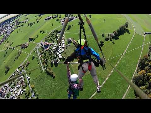 St. Pierre - This Guy's First Time Hang Gliding Went HORRIBLY Wrong!