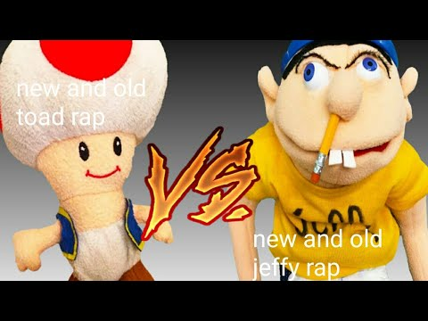 Old And New Jeffy Rap Vs Old And New Toad Rap
