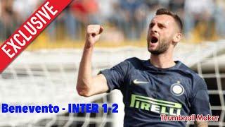 Benevento - INTER 1-2 ..Brozovic.. Vecino e Miranda i migliori in campo (la Beneamata è seconda)