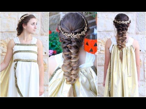 Twist Faux Braid | Greek Goddess | Halloween Hairstyles