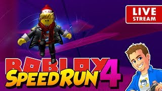 ROBLOX Speed Run 4 New Update! | Playing Roblox Mini Games | Family Friendly No Swearing Stream!