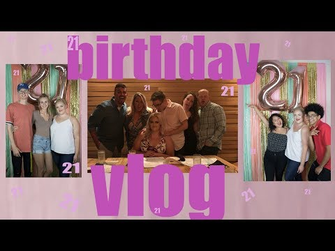 21ST BIRTHDAY VLOG | Madison Jones