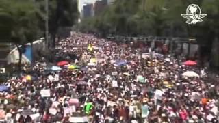 Marcha Anti Peña Nieto; D F