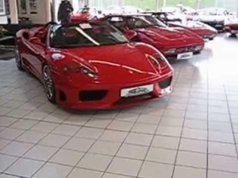 647101b98c Ferrari dealership in Singen Germany - YouTube