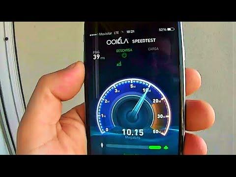 movistar Argentina 4G LTE Test
