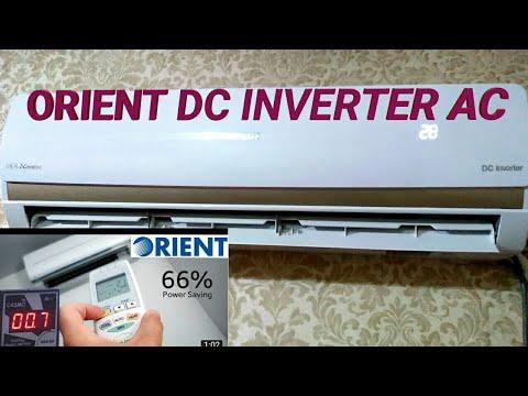 Orient DC inverter AC super cooling 1.5 ton ओरिएंट डीसी इन्वर्टर एसी सुपर कूलिंग 1.5 टन