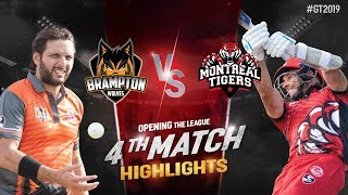 Montreal Tigers vs Brampton Wolves   Match 4 Highlights