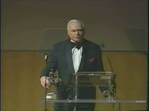 Ernest Borgnine & Audie Murphy National Cowboy Hall of Fame Ceremony ~ 1996