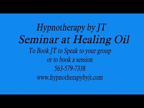 Hypnotherapy by JT at Healing Oils