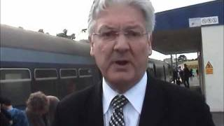Peter Dunne on the Johnsonville line