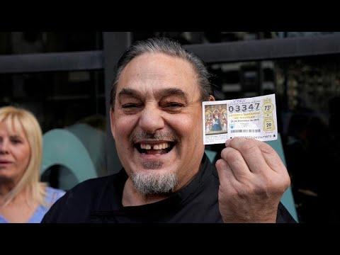 Spain's Christmas Lottery Winners Celebrate
