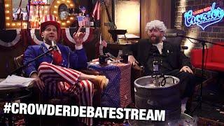 #CrowderDebateStream! Dan Crenshaw, John Stossel and MORE Guest! | Louder with Crowder