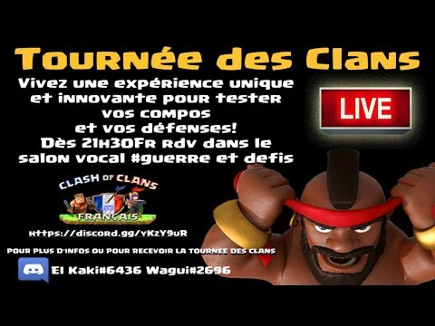 TOURNÉE DES CLANS nouveau concept qui DEVRAIT VOUS PLAIRE | Clash of clans