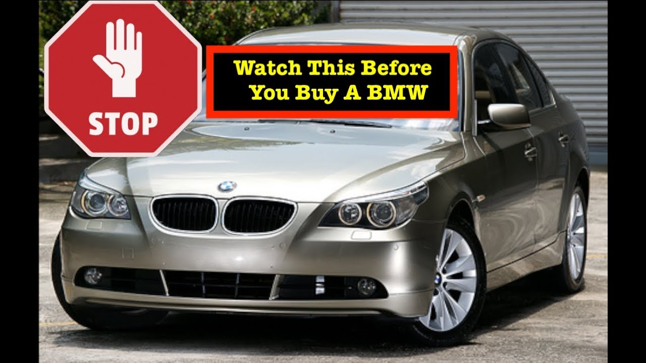 WARNING !!! What you MUST Know before buying a Newer BMW - Nathan's