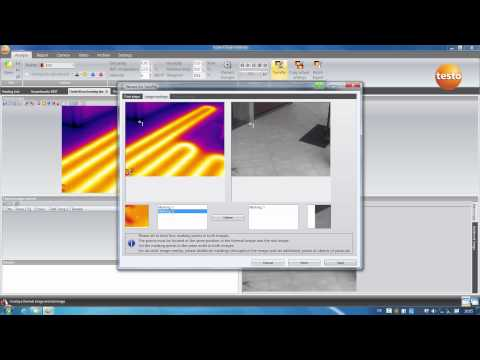 Creating a thermography report with the testo IRSoft software  | Be sure. Testo