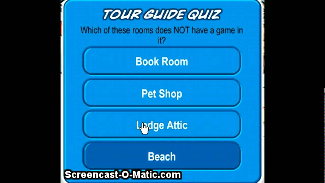 How to be a Tour Guide on Club Penguin