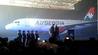Air Serbia: prvi avion A-319