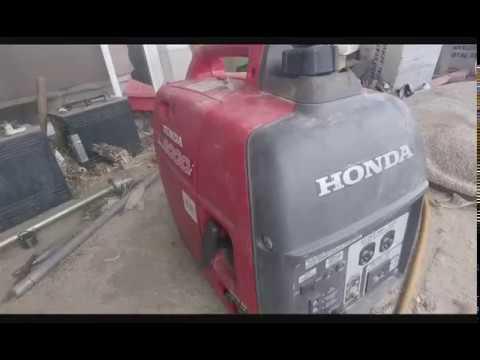 Honda eu2000i idle surge SOLVED!!!