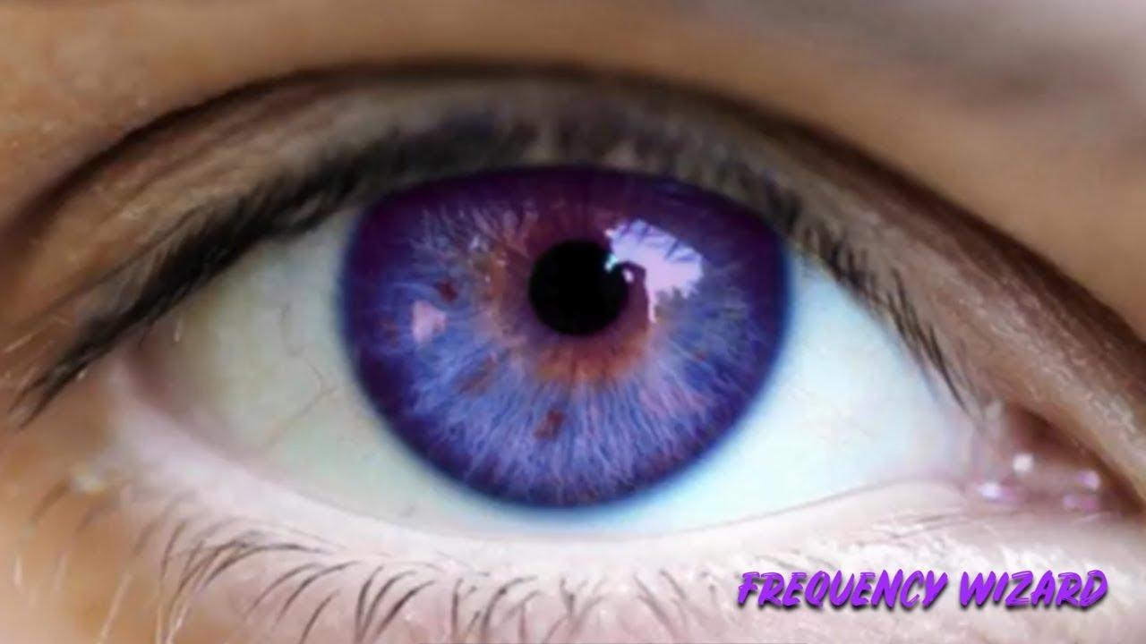 Change Your Eye Color To Dark Blue Purple Fast Biokinesis Binaural