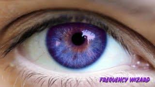 Change Your Eye Color Dark Blue Purple Fast Bi Nesis Binaural Beats Subliminal Hypnosis