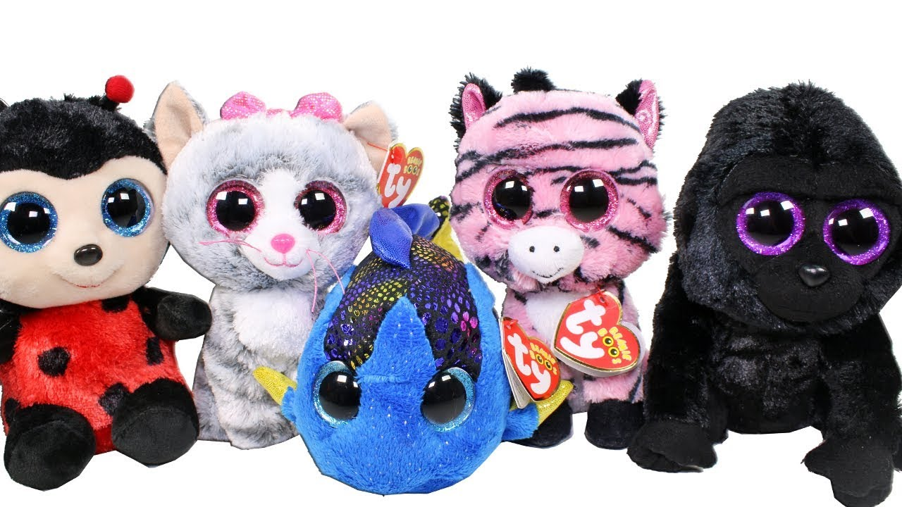 Beanie Boo Haul from Five Below Unboxing Toy Review TY Beanie Boos Plush 028afdffcf6