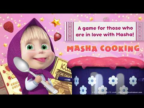 Masha And The Bear 🥧 Game Cooking 🥧 Teaser