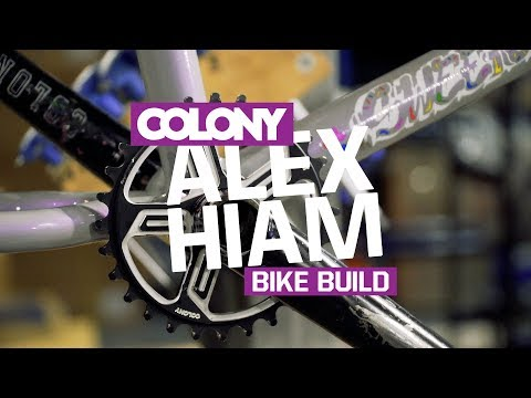 Alex Hiam builds up a fresh Colony Sweet Tooth frame in the new Pearl Silver colourway. Learn more about the Sweet Tooth frame here: http://colonybmx.com.au/products/new-sweet-tooth/ Thanks...