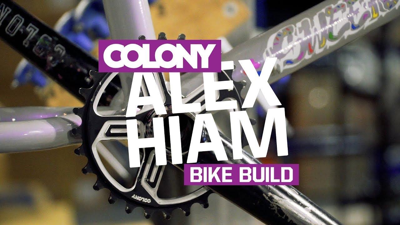 Colony BMX Spanish Bottom Bracket Kit 22mm PURPLE